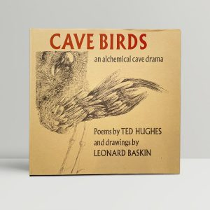 ted hughes cavebirds signed first edition1
