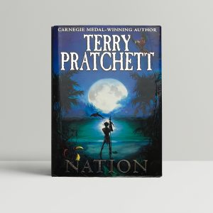 terry pratchett nation signed first edition1