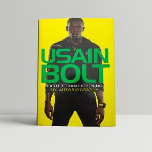 usain bolt faster than lightening signed first edition1