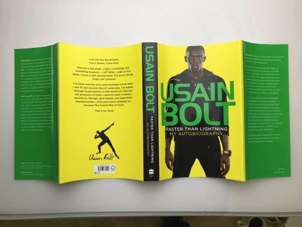 usain bolt faster than lightening signed first edition5
