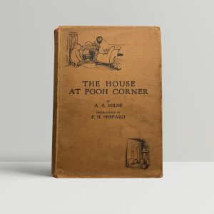 aa milne the house at pooh corner 1st edition1