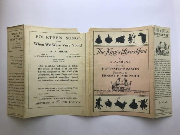 aa milne the kings breakfast signed first edition5