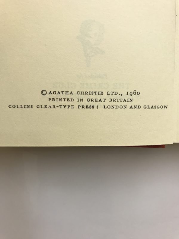 agatha christie the adventures of the christmas pudding 1st ed2