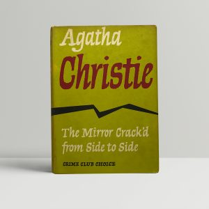agatha christie the mirror crackd from side to side 1st ed1