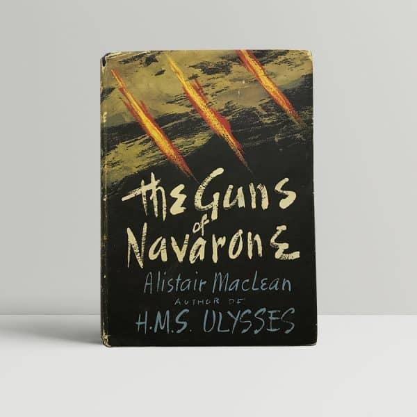 alistair maclean the guns of navarone first edition1