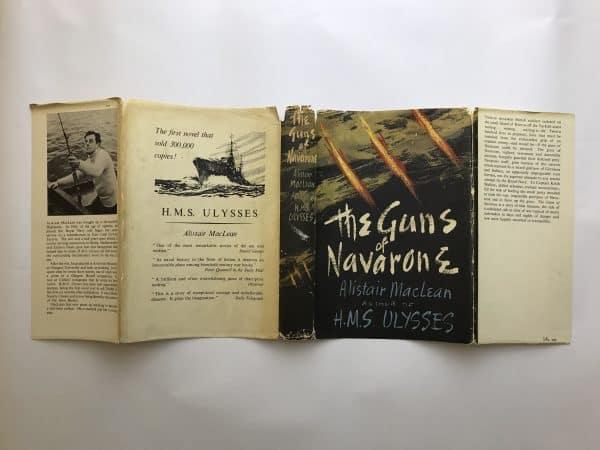 alistair maclean the guns of navarone first edition4