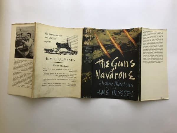 alistair maclean the guns of navarone signed first edition5