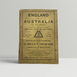 brumfitt and kirby england v australia1
