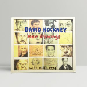 david hockney new drawings first edition1