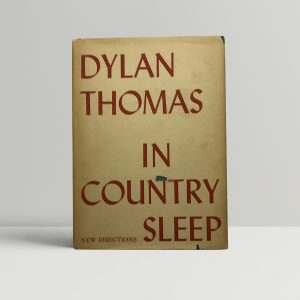 dylan thomas in country sleep first ed1