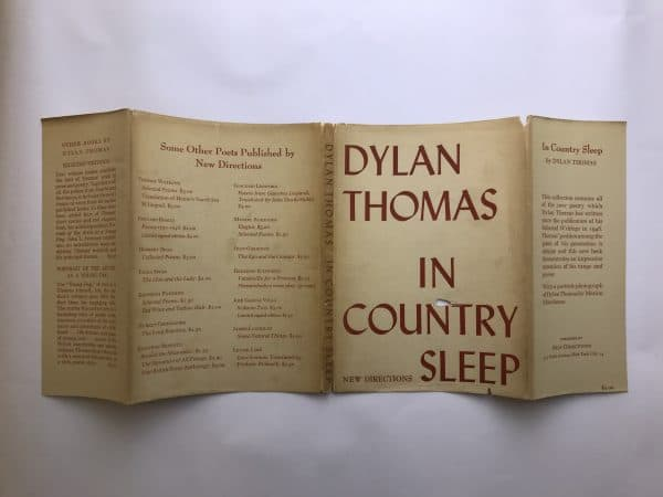 dylan thomas in country sleep first ed4