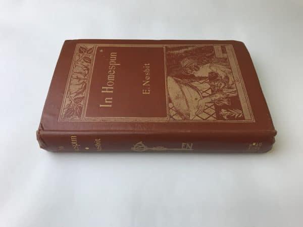 e nesbit in homespun first edition4
