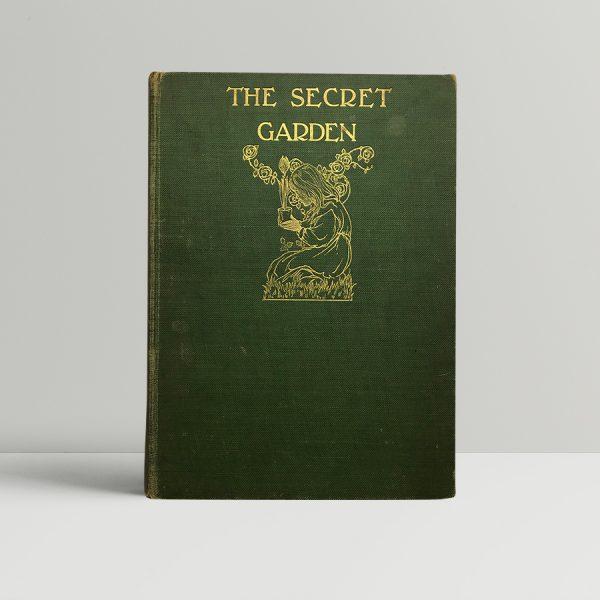 frances hodgson burnet the secret garrden first edition1