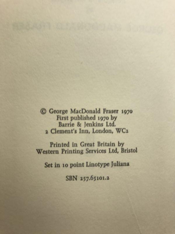 george macdonald fraser royal flash first ed2