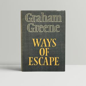 graham greene ways of escape first edition1