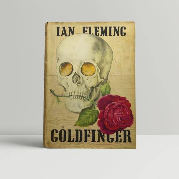 ian fleming goldfinger first ed1