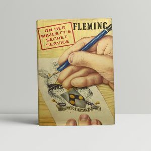 ian fleming on her mag secret service first edition1