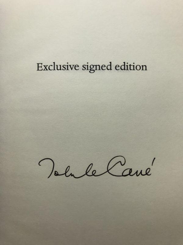 john le carre a delicate truth signed 1st ed3
