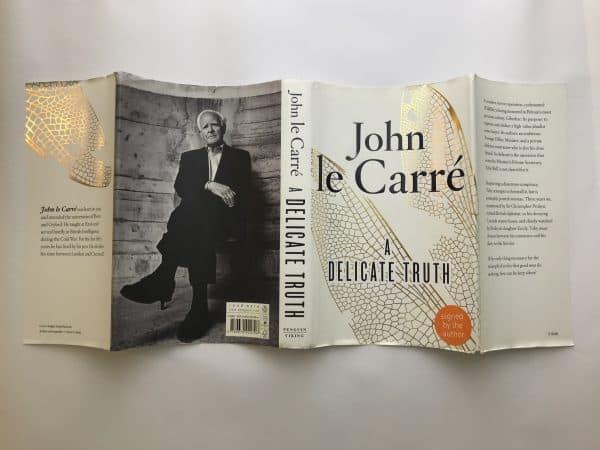 john le carre a delicate truth signed 1st ed5