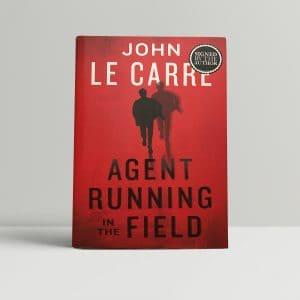 john le carre agent running in the field signed 1st ed1