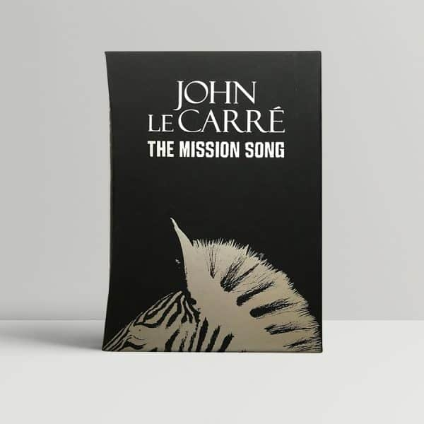 john le carre mission song signed 1st ed1