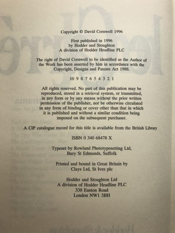 john le carre the taylor of panama 1st ed2