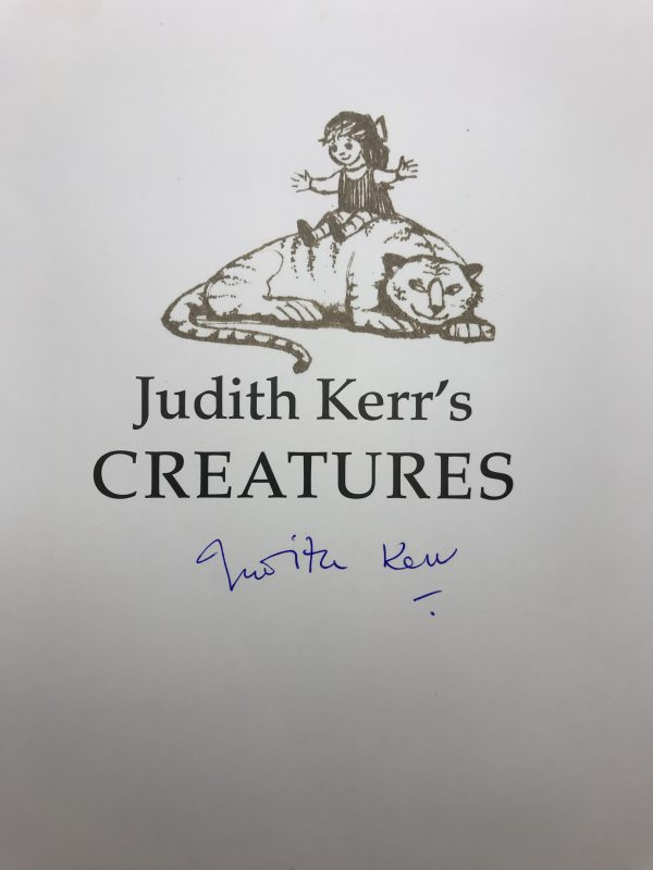 judith kerrs creatures signed first edition2