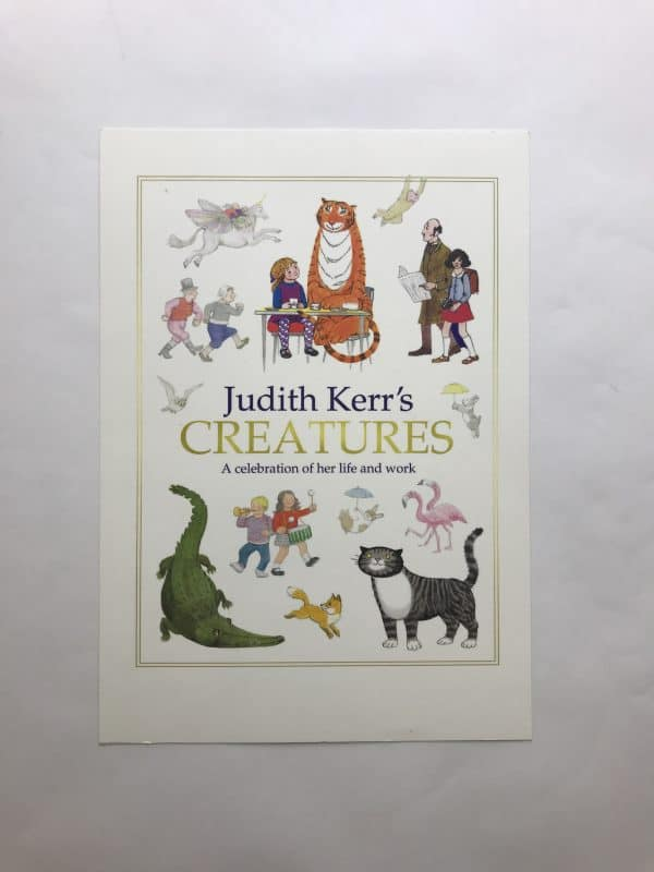 judith kerrs creatures signed first edition5