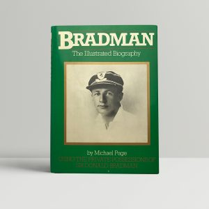 michael page bradman signed first edition1