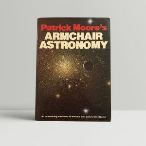 patrick moore armchair astronomy signed first edition1