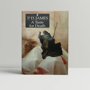 pd james a taste for death signed first edition1