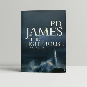pd james the lighthouse signed first edition1