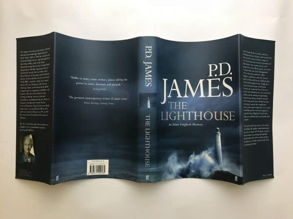 pd james the lighthouse signed first edition5