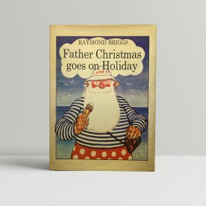 raymond briggs father christmas goes on holoiday firest edition1