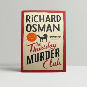 richard osman the thursday murder club signed first ed1