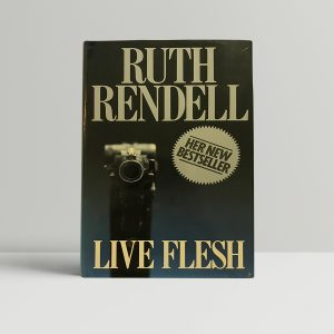 ruth rendell live flesh signed first edition1