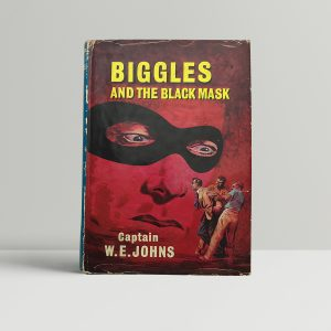 we johns biggles and the black mask first edition1