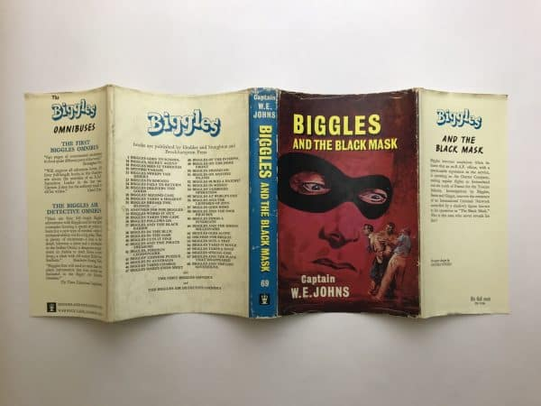 we johns biggles and the black mask first edition4