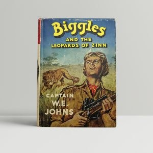 we johns biggles and the leopards of zinn first edition1