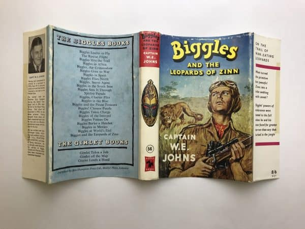 we johns biggles and the leopards of zinn first edition4