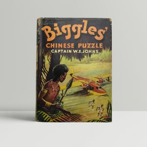 we johns biggles chinese puzzle first edition1