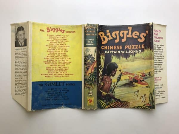 we johns biggles chinese puzzle first edition4