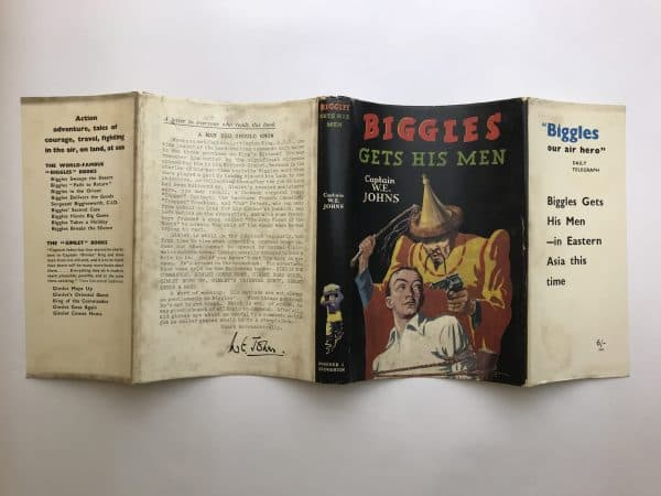 we johns biggles gets his man first edition4