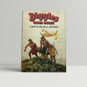 we johns biggles goes home first edition1