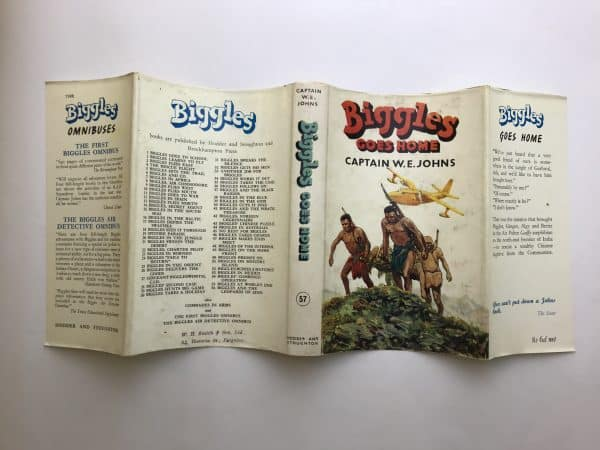 we johns biggles goes home first edition4