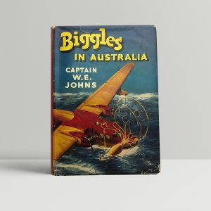 we johns biggles in australia first edition1
