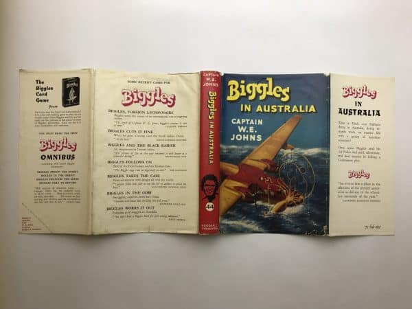 we johns biggles in australia first edition4
