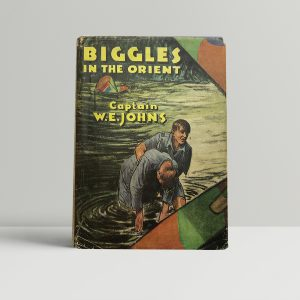 we johns biggles in the orient first edition1