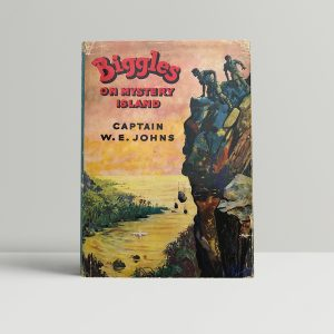 we johns biggles on mystery island first edition1