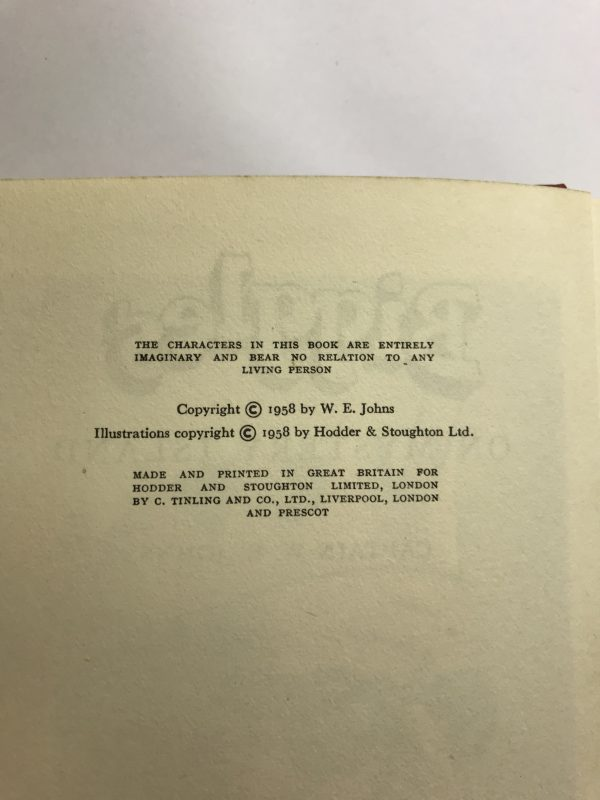 we johns biggles on mystery island first edition2